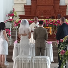 bali catholic wedding